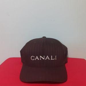 Luxury Baseball Hat CANALI spellout